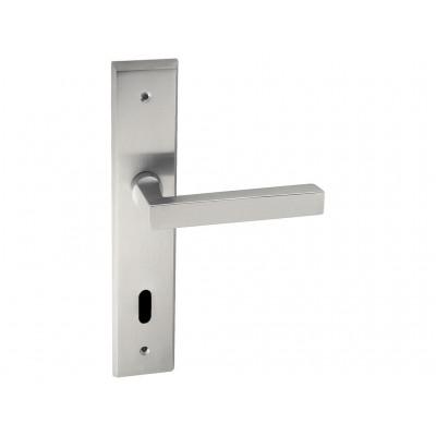 Ручка дверная на планке Laser (ZAMAK)
